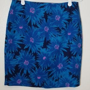BB DAKOTA Womens Skirt Floral Multicolored Size S